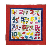 Hawaii Style Baby Quilt or Wall Hanging Counting