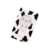 Novelty Children Pocket Cute Led Kids Mini Card Night Light Bulb Lamp Wallet Home Kids White Cow