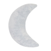 Oilo Moon Pillow, Aqua
