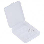 Hard Portable Plastic Storage Box Case Holder For 4 x 18650 Battery,Tuscom