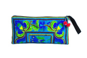 Hill Tribe Handmade Hmong Embroidered bag Thai Boho Small Clutch Purse Bag Handbags Purse Women bag