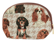 Cavalier Cosmetics Bag by Signare | Makeup Tapestry Case | 21x14x7 cm |