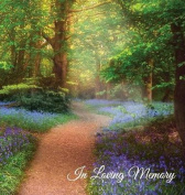 """In Loving Memory"" Funeral Guest Book, Memorial Guest Book, Condolence Book, Remembrance Book for Funerals or Wake, Memorial Service Guest Book"