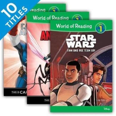 World of Reading Level 1 Set 3 (Set) (World of Reading Level 1 Set 3)