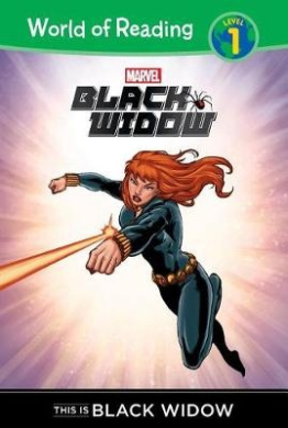 Black Widow: This Is Black Widow (World of Reading: Level 1)