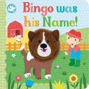 Little Me Bingo Was His Name! Finger Puppet Book [Board book]