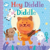 Little Me Hey Diddle Diddle Finger Puppet Book [Board book]