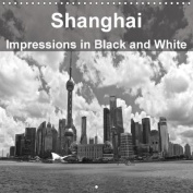 Shanghai Impressions in Black and White 2018