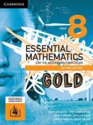 Essential Mathematics for the Australian Curriculum Gold 2ed Year 8 Print Bundle (Textbook and Hotmaths)