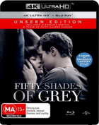 Fifty Shades of Grey (Unseen Edition)  [Region B] [Blu-ray]