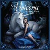 Unicorns by Anne Stokes Wall Calendar 2018