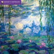 Monet's Waterlilies Wall Calendar 2018