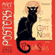 Art Nouveau Posters Wall Calendar 2018