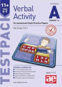 11+ Verbal Activity Year 5-7 Testpack A Papers 1-4