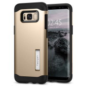 Spigen Galaxy S8+ Slim Armor Case - Gold Maple,Certified Military-Grade Protection, Reinforced