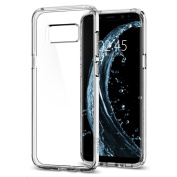 Spigen Galaxy S8 Ultra Hybrid Case Crystal Clear ,Certified Military-Grade Protection,Clear Durable