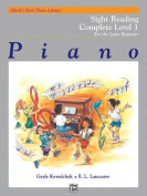 Alfred's Basic Piano Library Sight Reading Book Complete, Bk 1a & 1b