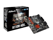 ASRock H110M-HDV R3.0 Intel H110 Chipset for Socket LGA1151, mATX,2 X DDR4 DIMM, VGA/DVI/HDMI, USB