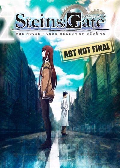 Steins; Gate: The Movie: Load Region of Deja Vu [Region 4] - DVD - New