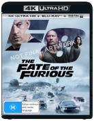 Fast & Furious 8 4K Blu-ray  [2 Discs] [Region B] [Blu-ray]