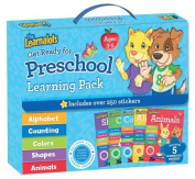 The Learnalots Get Ready for Preschool Learning Pack Ages 3-5