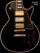 Black Gibson Guitar Pocket Diary 2018