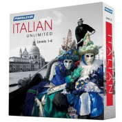 Pimsleur Italian Levels 1-4 Unlimited Software [Audio]