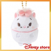 Mary with the Disney ufufy key ring key chain stuffed toy