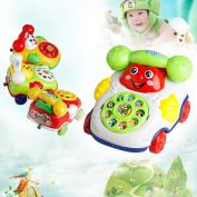 Baby Toys Music Cartoon Phone Educational Developmental Kids Toy New
