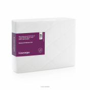 Linenspa Waterproof Mattress Pad With Quilted Microfiber Cover Queen, New