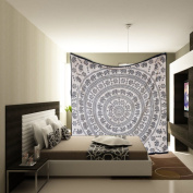 Big Mandala Hippie Tapestry, Hippie Wall Hanging Tapestries, Bohemian