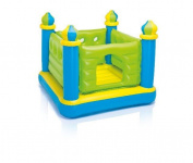 Intex Jr. Jump-o-lene Inflatable Castle Bouncer 130cm X 130cm X 110cm Ages 3-6, 4825