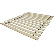 Classic Brands Heavy Duty Twin Wooden Bed Slats Bunkie Board Frame for Any Mattress Type