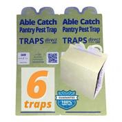 6 Pantry Moth Traps Usa Made Safe Pheromone Lure New,  .