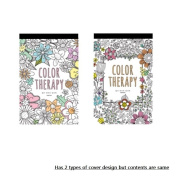 Colour Therapy Colouring Books For Adult Postcards Hand Drawn Greeting Card