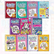 New Dork Diaries Collection 11 Books Children Set By Rachel Renne Russell
