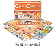Catopoly Monopoly Board Game By Late For The Sky, New,  .