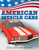 American Muscle Cars Colouring Book By Happy Colouring {cars/truck}[p