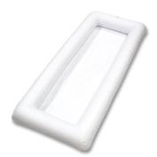 Cool Downz Inflatable Salad/serving Bar, White, 130cm l X 60cm W X 11cm deep