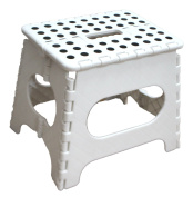 Jeronic 28cm Folding Step Stool Holds Up To 140kg