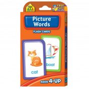 Picture Words Flash Cards, School Zone Publishing Company Staff