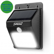Swiftly Done Bright Solar Power Outdoor Led Light No Tools Required Peel And
