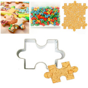Puzzle Shape Fondant Cookie Cutter Cake Decorating Cookies Mould Stainless Steel