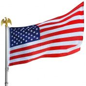 0.9m x 1.5m Us American Flag Standard Size W/ Star Stripe Grommet For Flagpole
