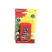 Disney Junior Mickey Mouse Clubhouse Flip Phone Toy Play New