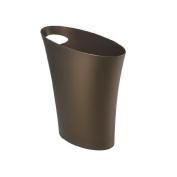 Trash Can Waste Basket Bronze Office Bedroom Bathroom Bin Home Kitchen 7.6l