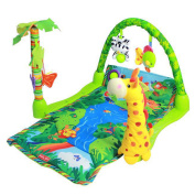 Baby Rainforest Musical Baby Activity Play Gym Toy Soft Mat