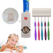 Rc Press To Paste Toothpaste Dispenser Automatic Toothpaste Squeezer And