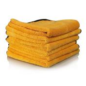 Chemical Guys Mic_507_06 Professional Grade Premium Microfiber Towel, Gold (16