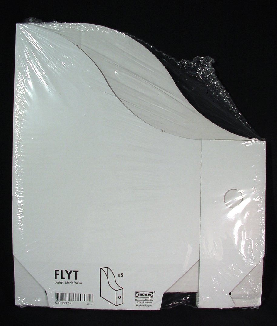 Kea Magazine Storage Holder File White New 5 Pack Flyt As Found